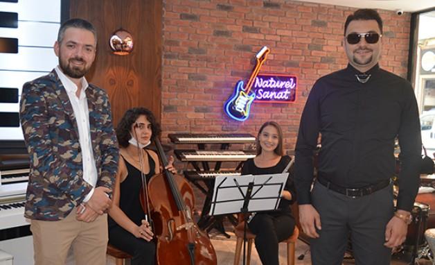 Naturel Müzik ve Sanat merkezi açıldı