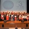 Öğrenciler Türkçe'lerini konuşturdu