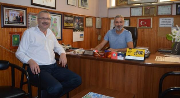 Özkan'dan Yörem'e ziyaret