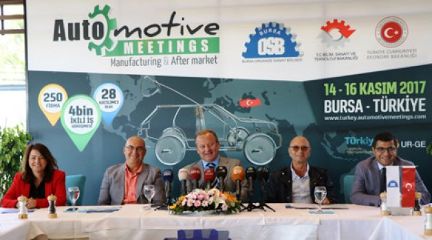 Otomotiv sektörünün kalbi Bursa'da atacak