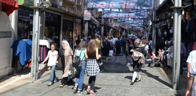 Payitaht'ta alışveriş heyecanı