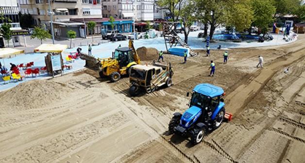 Plajlar yaza hazır ama Yeniköy ne olacak?