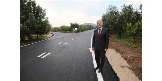 İznik'e 36 milyonluk yol yatırımı