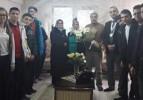 Sınav'dan şehit ailesine ziyaret