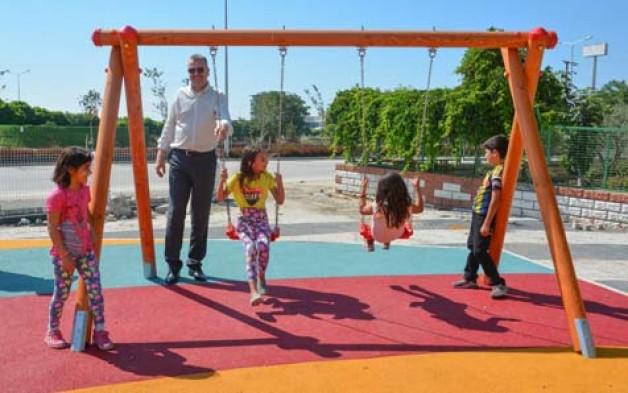 Şehit Pilot Yüzbaşı Acarca Parkı bitiyor