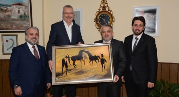 Salman'dan Özkan'a ziyaret