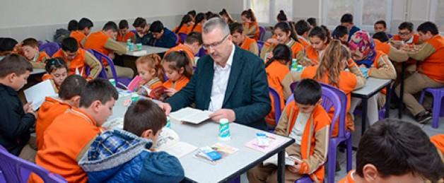 Seyran'da 'Okuma' etkinliği