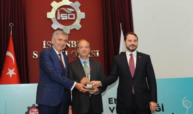 Sütaş'a 'Enerji Verimliliği' ödülü