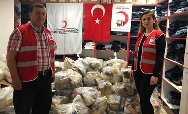 Türk Kızılayı ile yüzler gülüyor!