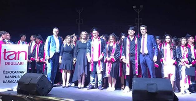 TAN'da unutulmaz mezuniyet