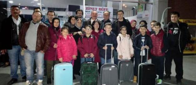 TOKİ İlkokulu'ndan İtalya'ya çıkarma