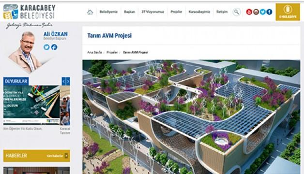 Tarım AVM'nin maket projesi çalıntı mı?