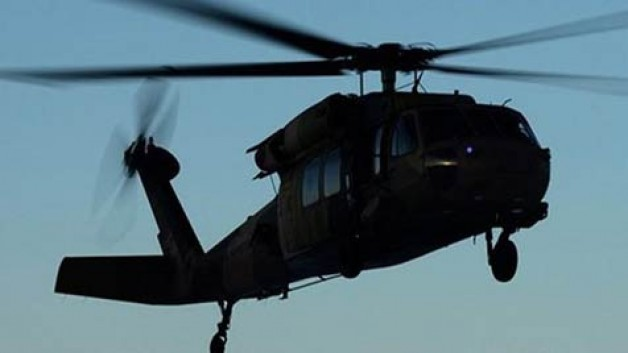 Tunceli'de helikopter kazası: 12 Şehit