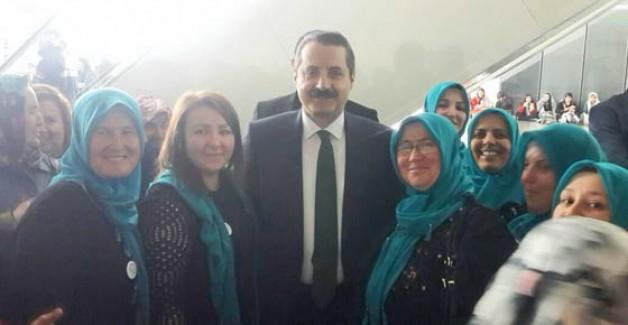 Üretici kadınlardan Ankara'ya çıkarma