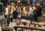 Yağcı'dan şampiyon takıma yemek