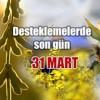 Yağlı tohumlular desteği için son gün 31 Mart