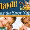 Yaz Spor okulları kapılarını açıyor