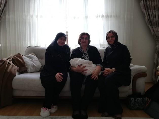 Yeni çocuk sahibi olan ailelere destek