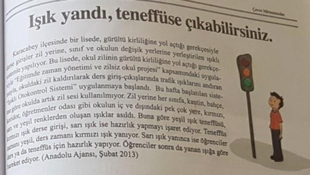 Zilsiz Okul Projesi Türkiye'ye örnek oldu