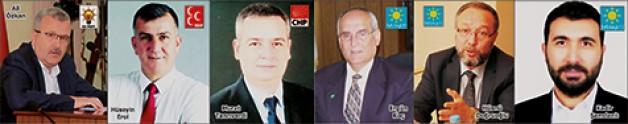 Belediye başkan adayları kim olacak?