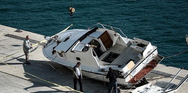 Tekne facisında 2 kişi gözaltına alındı