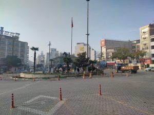 Atatürk Anıtı ve çevresi güzelleşiyor-3