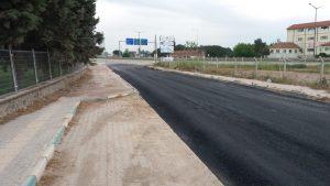 O yolu nihayet asfaltladılar-4