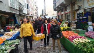 CHP pazarcıların içini ısıttı-2